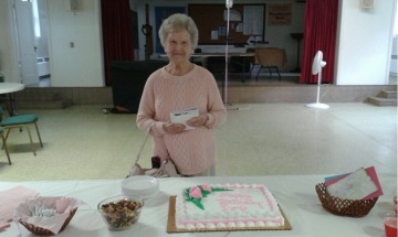 Happy 97th, Doris Schwaninger!