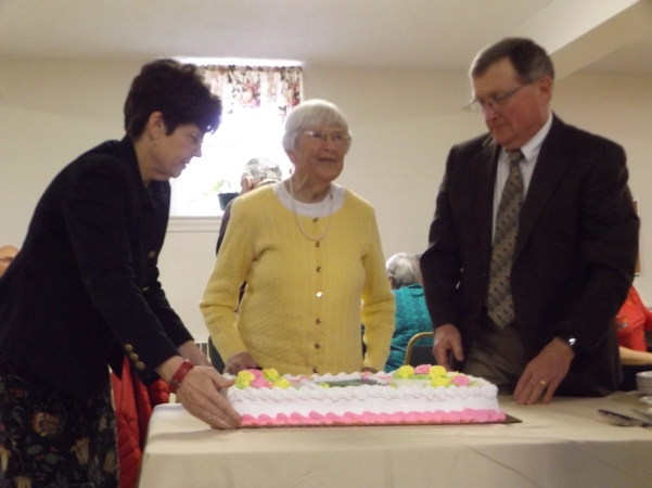Happy 100th birthday, Ellen Walbridge!